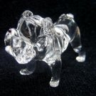 PUG (MOPS) DOG CRYSTAL GLASS COLLECTIBLE MINIATURE