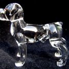ROTTWEILER DOG CRYSTAL GLASS MINIATURE FIGURINE