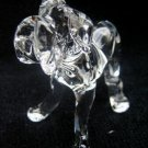 MASTIFF DOG CRYSTAL GLASS COLLECTIBLE MINIATURE FIGURINE