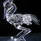 HERON CRYSTAL GLASS COLLECTIBLE MINIATURE FIGURINE