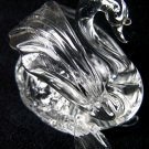 SWAN CRYSTAL GLASS COLLECTIBLE MINIATURE FIGURINE