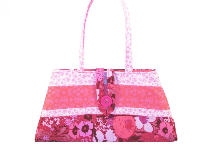Anastasia Purse in Pink Floral