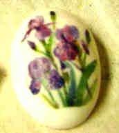 Purple Iris Embedded Soaps NR Everlasting Image 2