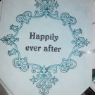 Happily Ever After Canvas Renaissance Banner Blue