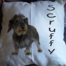 Personalized Handcrafted Photo Pillow USA Cats Dogs PET