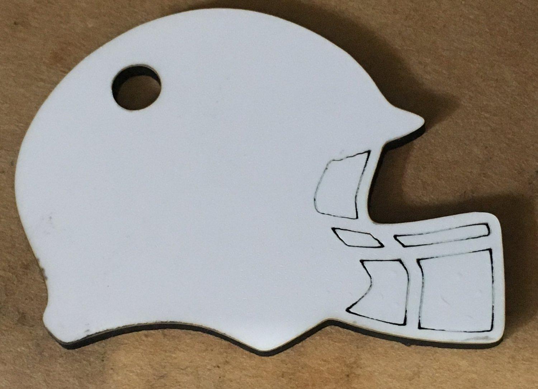 12�  sublimation blank (2) Football Helmet
