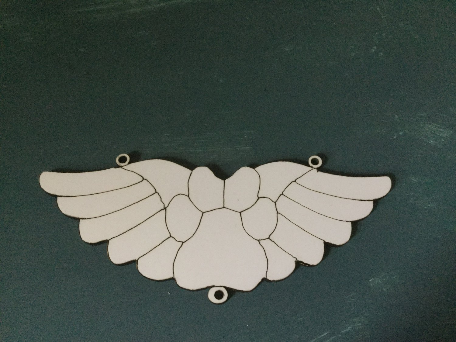 12�  sublimation blank (2) Wings
