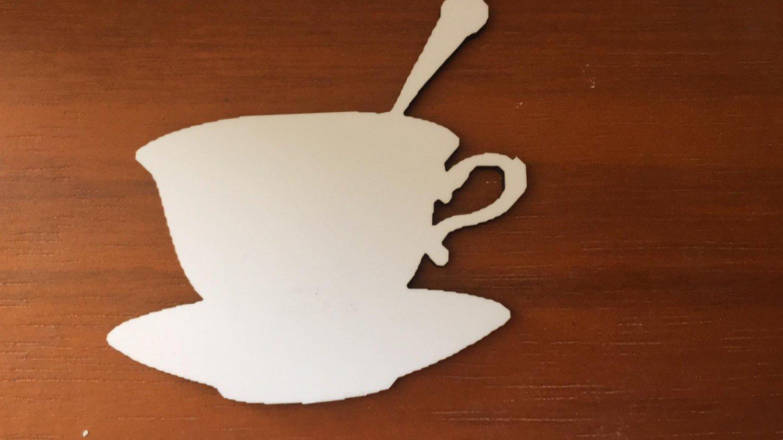 12�  sublimation blank (2) Teacup