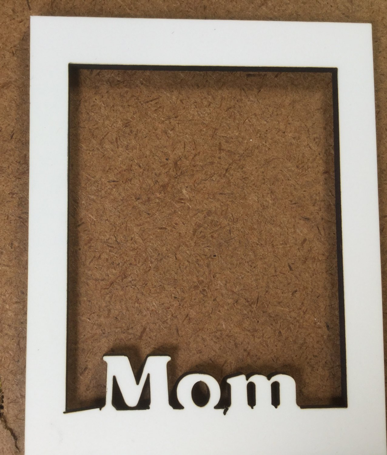 8x10  sublimation blank (2) Mom Frame