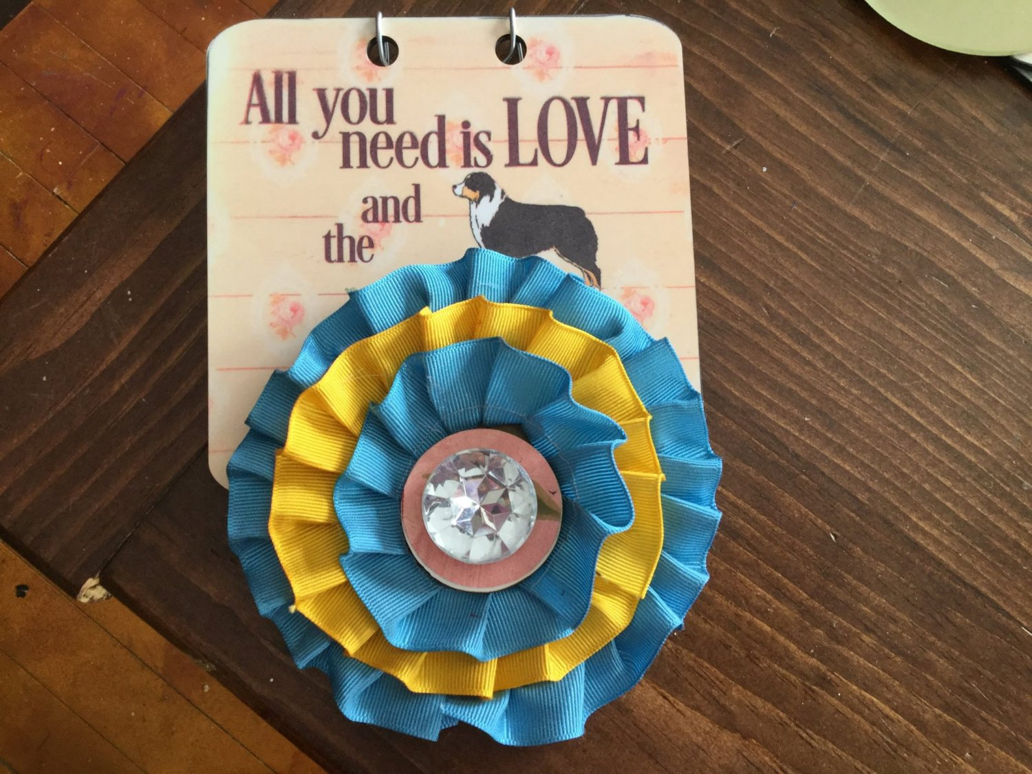 5�  sublimation blank (3) rosette display
