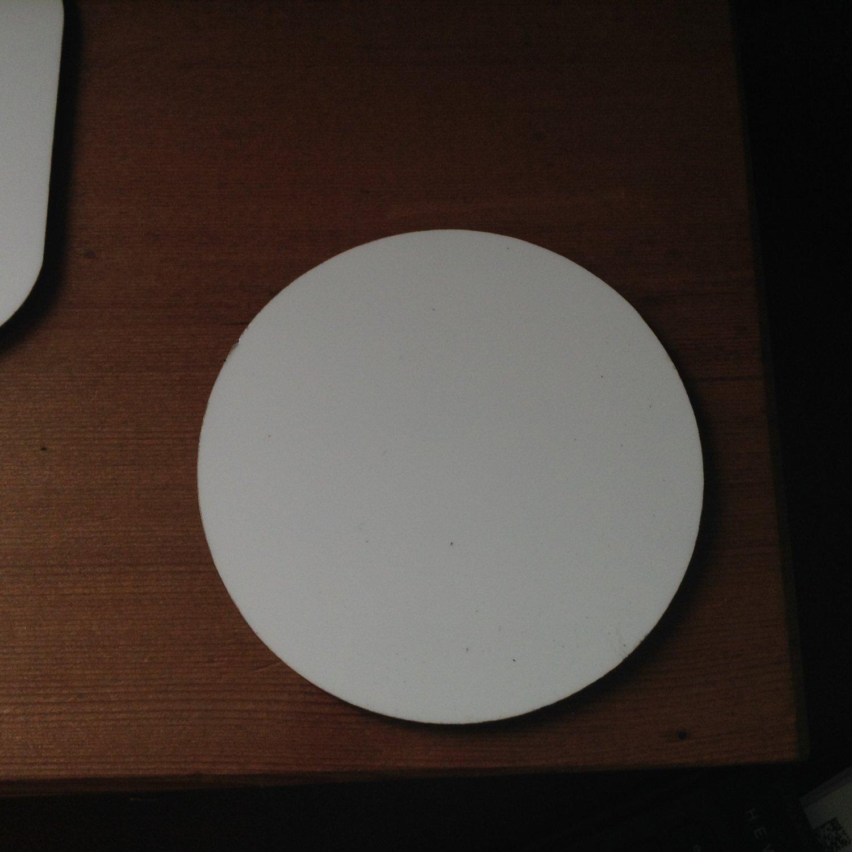 4�  sublimation blank (5) round coaster