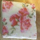 Artisan Soap Embedded roses((2)