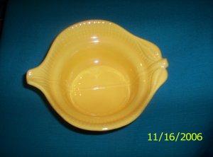 California Yellow Lazy Susan top bowl