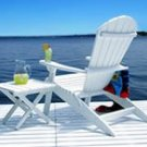 Shell Back Adirondack Chair