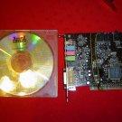 Used Soundblaster Live! 5.1 Creative Labs Sound Card PCI with CD.