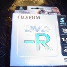 FUJIFILM DVD-R (8cm) x 5 - 1.4 GB - storage media