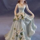 Quinceanera Cake Topper Figure 15 Blue Dress