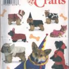 Simplicity Crafts Dogwear Dog Costumes #9257 Uncut