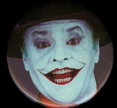 The Joker From Batman Movie Pin