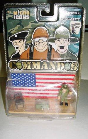 Micro Icons Commandos Series 1 Patriotic Platform New