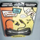 The Simpsons USB Controller Charge Cable PS3 NEW