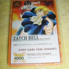 Zatch Bell Trading Card New in Package
