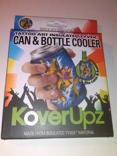 KoverUpz Can & Bottle Insulated Bag Tattoo Art