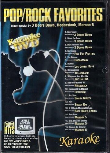 Forever Hits Pop/Rock Favorites Karaoke DVD FH-4208