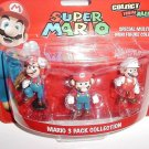 Super Mario Special Multi-Pack Mini Figure Collection Mario 3 Pack