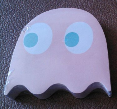 PAC-MAN STICKY NOTES - GHOST - Single Pack - NEW