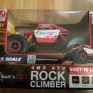 Rock 'n RC Rock Climber 1:18 Scale Radio Control Car 4WD ATV RC7656