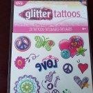 Glitter Tattoos - 20 Temporary Tattoos