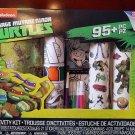 Nickelodeon Teenage Mutant Ninja Turtles Activity Kit Temporary Tattoos