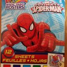 MAGIC PAINT POSTERS ULTIMATE SPIDER-MAN 12 SHEETS