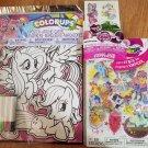 My Little Pony 10 Prism Foil Tattoos 59 Sticker Stacks 1 Colorup