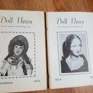 Doll News UFDC Magazine - Lot of 2 - 1974