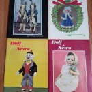 Doll News UFDC Magazine - Lot of 4 - Year of 1978
