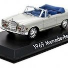 """1969 Mercedes 280 SE Convertible Top Down """"The Hangover"""" Movie (2009) 1/43 by Gr"""