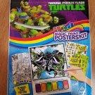 TEENAGE MUTANT NINJA TURTLES Magic Paint Posters Kit Posters Stickers Tattoos