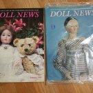 Doll News UFDC Magazine - Lot of 2 1995