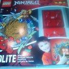 Ninjago LEDLite NiteLite Lego Night Light Red Brick