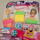 Gift Ems 3 Pack Series 1 Sydney Mexico City & Mystery Blind Pack FACTORY SEALED!