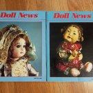 Doll News UFDC Magazine - Lot of 2 1990