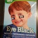 Savvi Eye Black Tattoos - 4 Tattoo Sheets