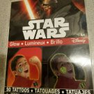 Star Wars GlowTattoos - 50 Temporary Tattoos
