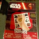Star Wars 25 Temporary Prism FOIL Tattoos Pack