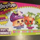 Shopkins Fruity Gummies, 3 Delicious Flavors in Theater Size Box, 3 oz