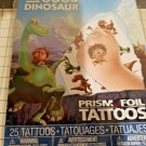 The Good Dinosaur 25 temporary Prism FOIL tattoos pack