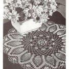 Doily Crochet, Vintage Doily Pattern, Pineapple Cornfield