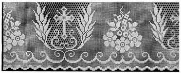 Church Altar Table  Crochet Edging Church Altar Patterns Lace